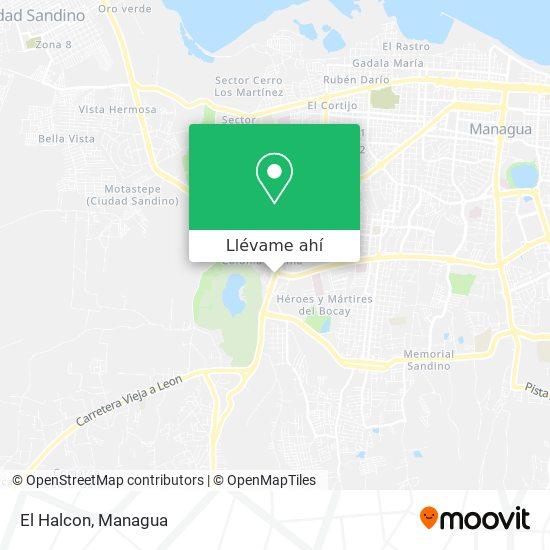 Mapa de El Halcon