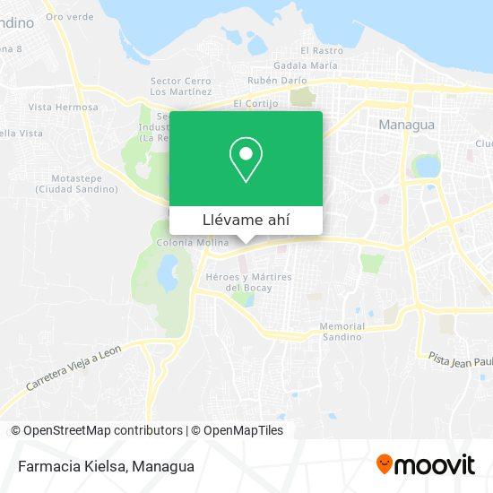 Mapa de Farmacia Kielsa