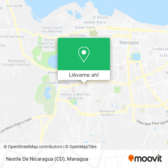 Mapa de Nestle De Nicaragua (CD)
