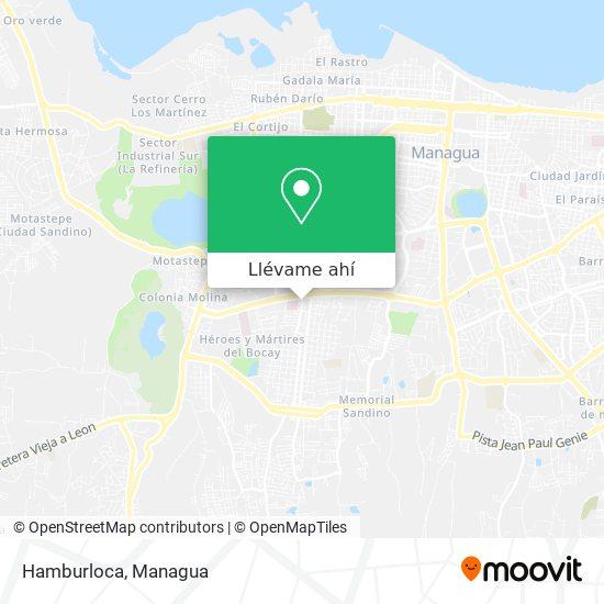 Mapa de Hamburloca
