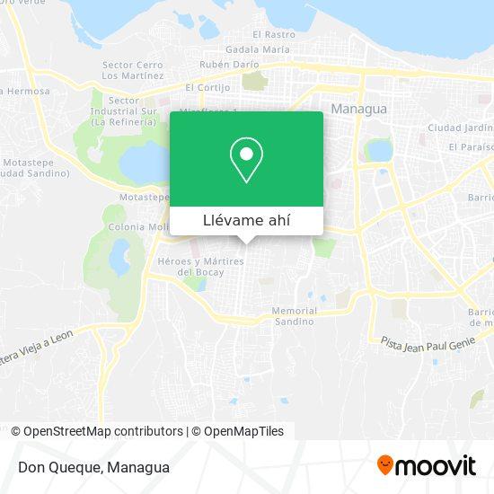 Mapa de Don Queque