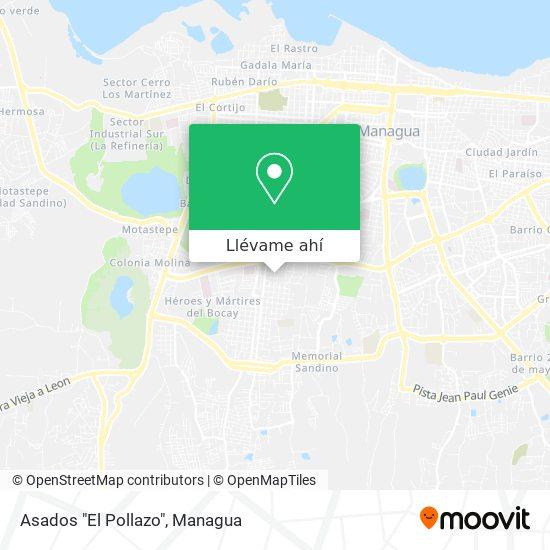 """Mapa de Asados """"El Pollazo"""""""
