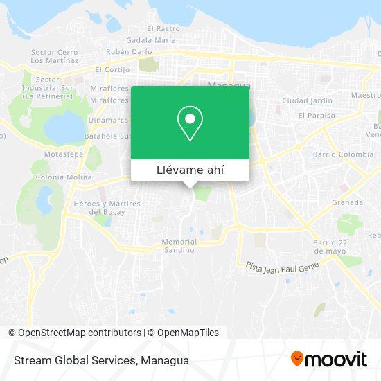 Mapa de Stream Global Services