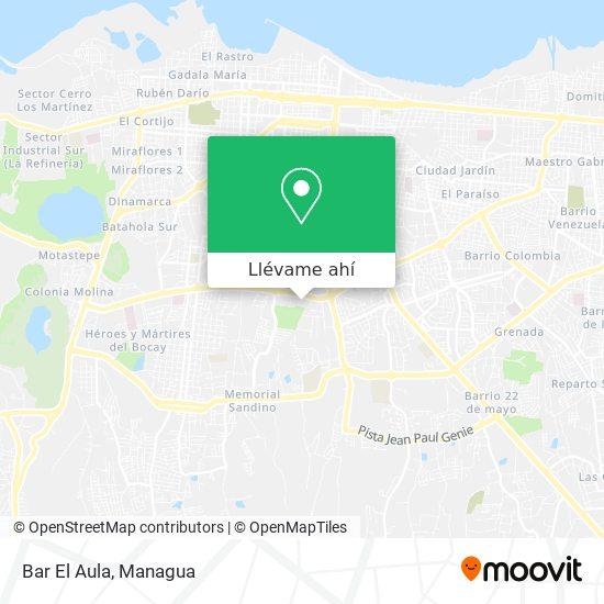 Mapa de Bar El Aula
