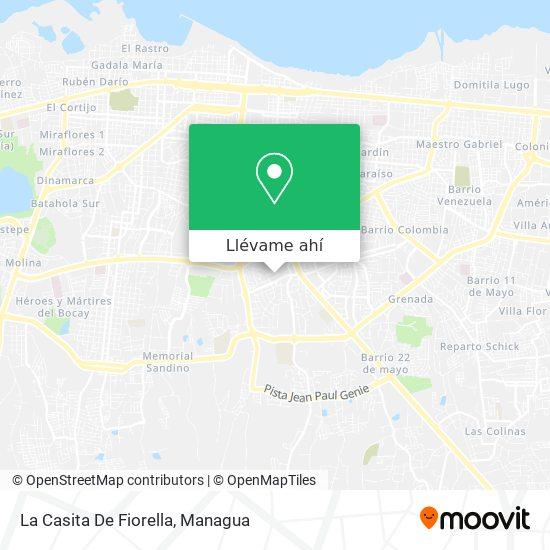 Mapa de La Casita De Fiorella