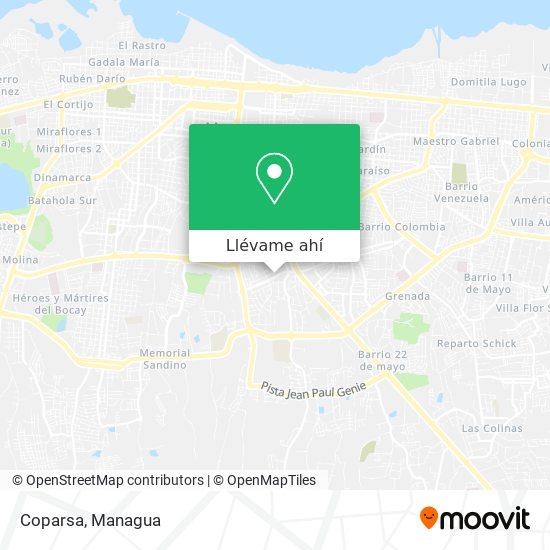 Mapa de Coparsa