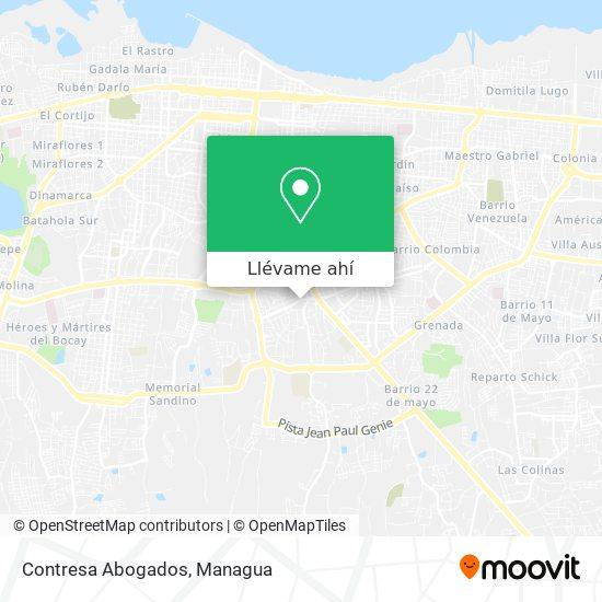 Mapa de Contresa Abogados