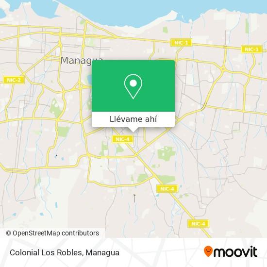 Mapa de Colonial Los Robles