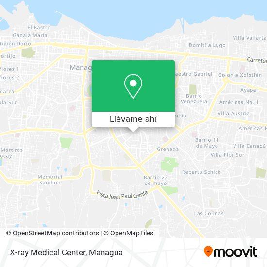 Mapa de X-ray Medical Center