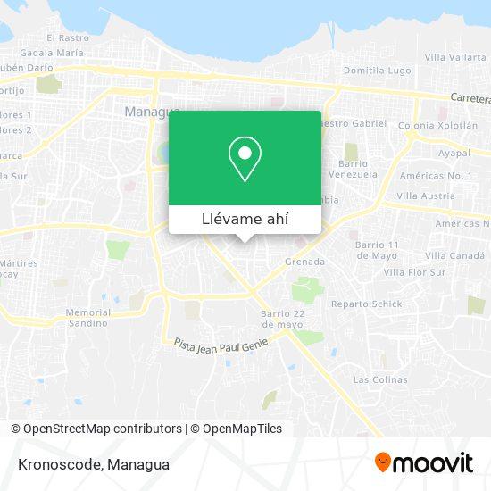 Mapa de Kronoscode