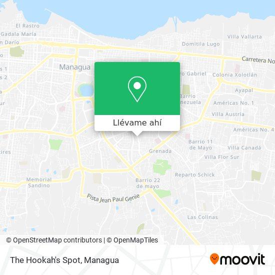 Mapa de The Hookah's Spot