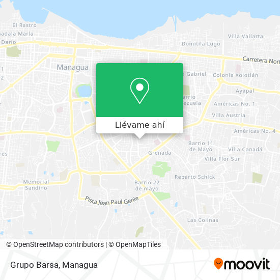 Mapa de Grupo Barsa