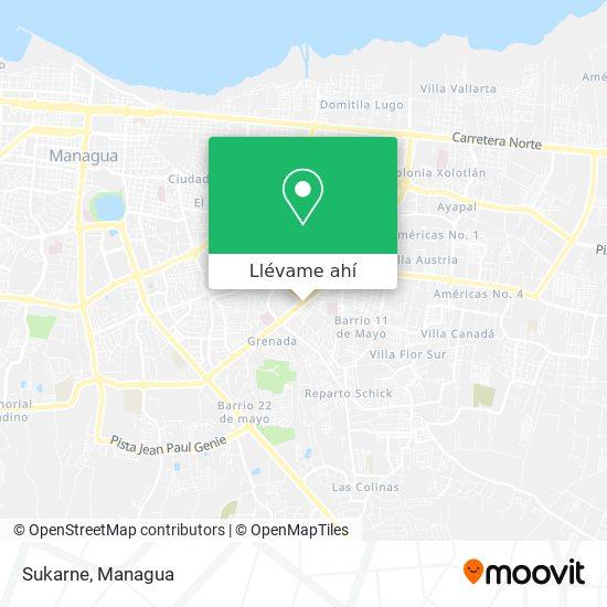 Mapa de Sukarne