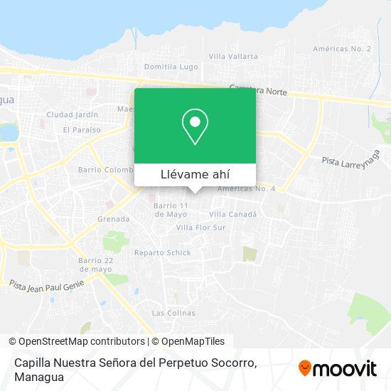 Mapa de Capilla Nuestra Señora del Perpetuo Socorro