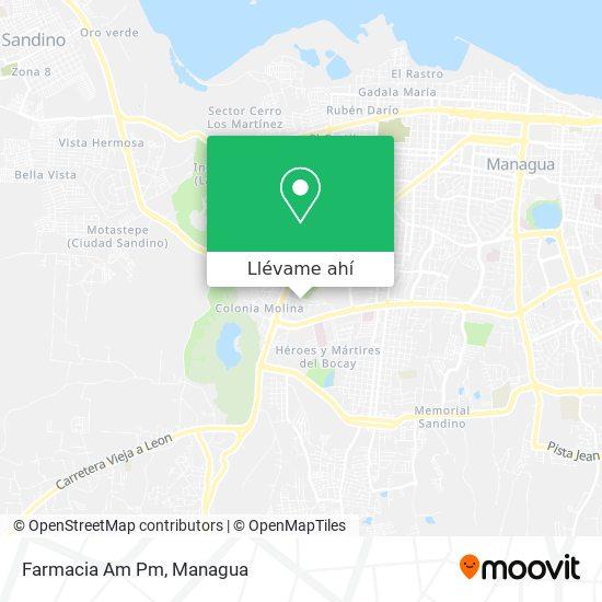 Mapa de Farmacia Am Pm