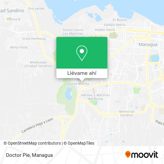Mapa de Doctor Pie