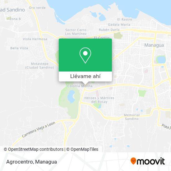Mapa de Agrocentro
