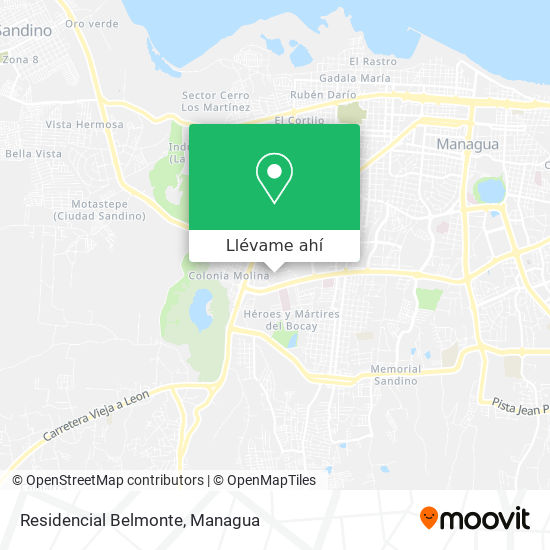 Mapa de Residencial Belmonte