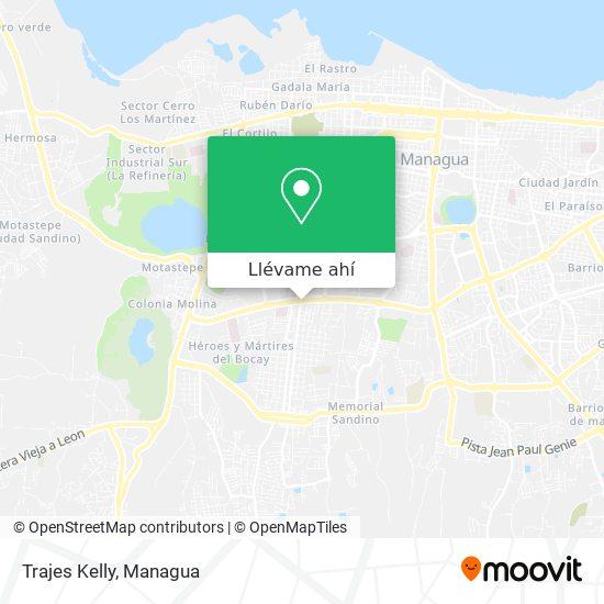 Mapa de Trajes Kelly