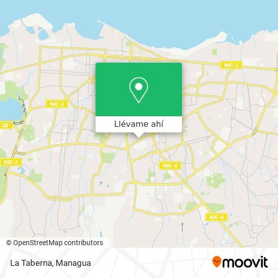 Mapa de La Taberna