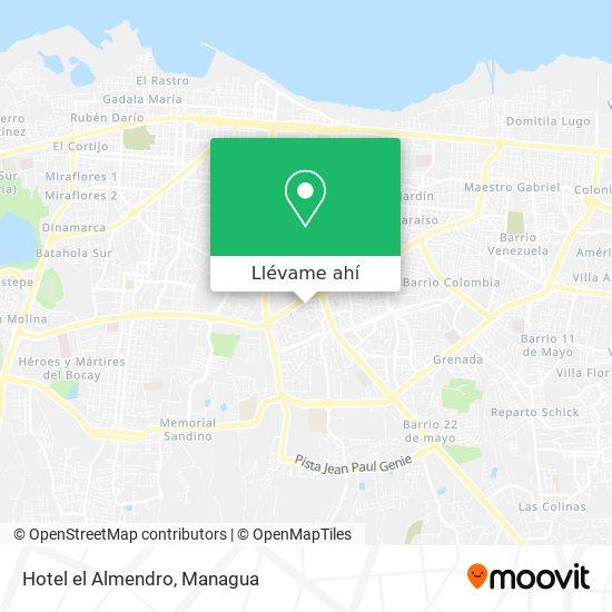Mapa de Hotel el Almendro