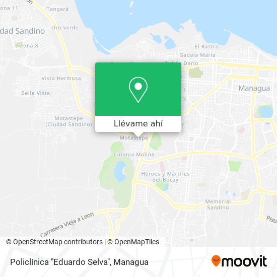 "Mapa de Policlínica ""Eduardo Selva"""