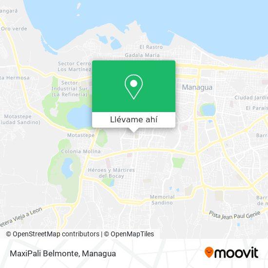 Mapa de MaxiPali Belmonte