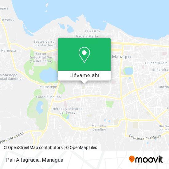 Mapa de Pali Altagracia