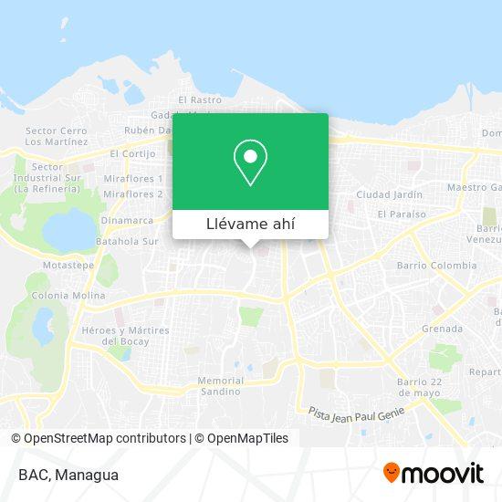 Mapa de BAC