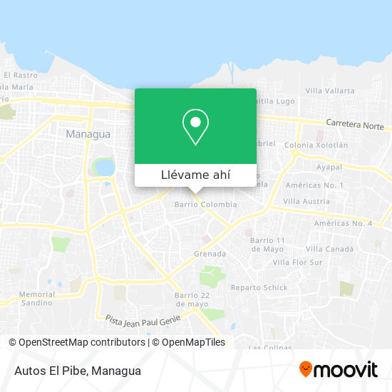 Mapa de Autos El Pibe