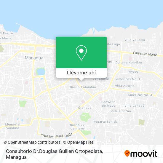 Mapa de Consultorio Dr.Douglas Guillen Ortopedista