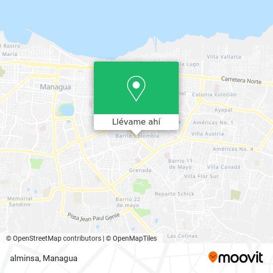 Mapa de alminsa