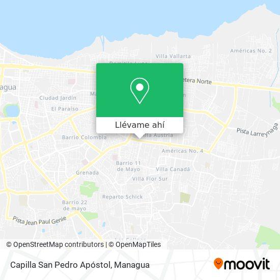 Mapa de Capilla San Pedro Apóstol