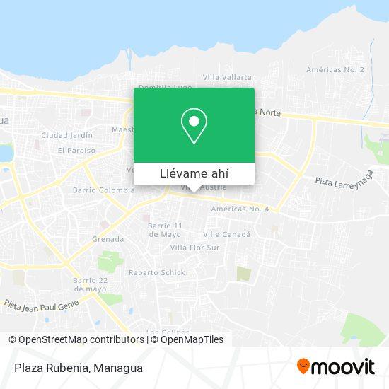 Mapa de Plaza Rubenia