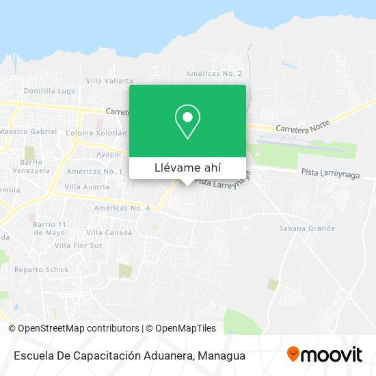 Mapa de Escuela De Capacitación Aduanera