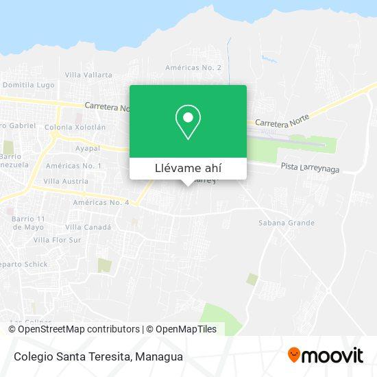 Mapa de Colegio Santa Teresita