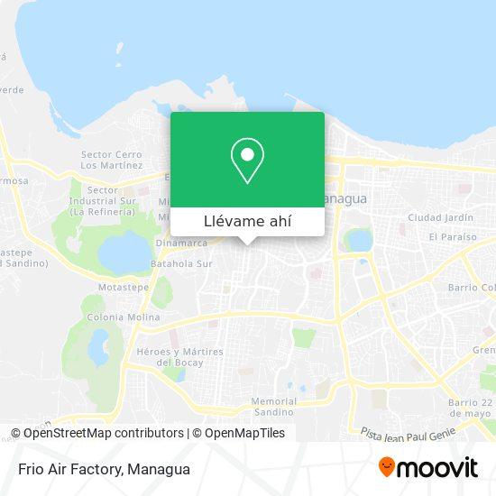 Mapa de Frio Air Factory