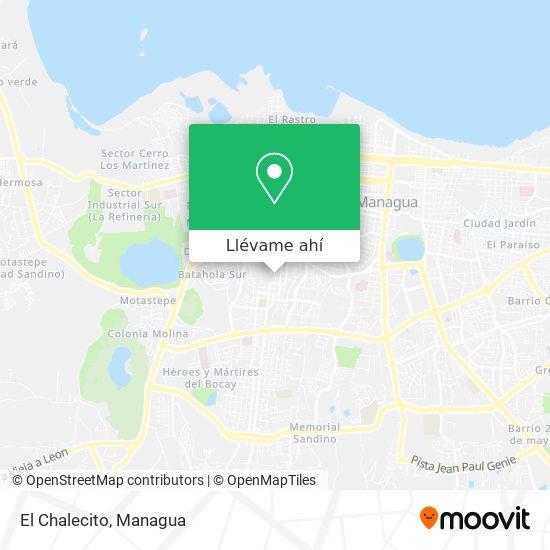 Mapa de El Chalecito