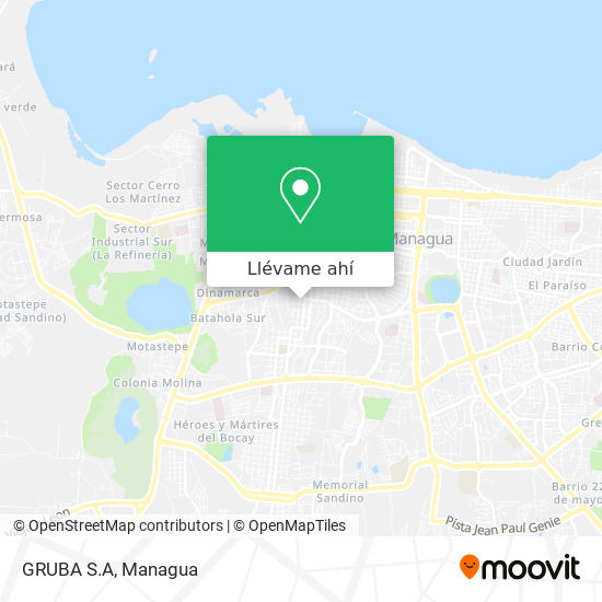 Mapa de GRUBA S.A