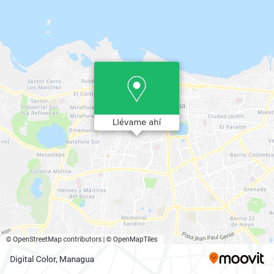 Mapa de Digital Color