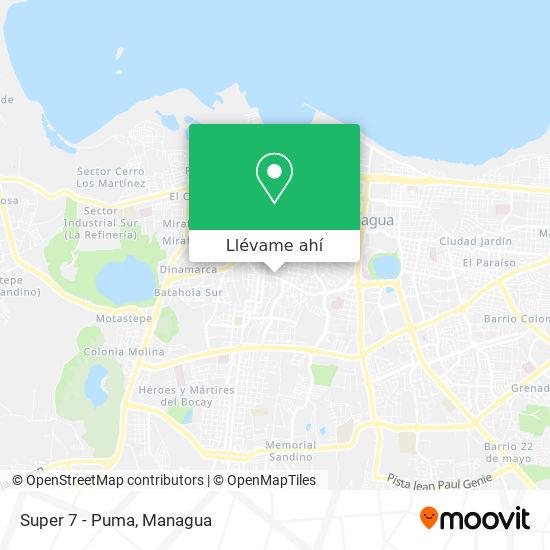 Mapa de Super 7 - Puma