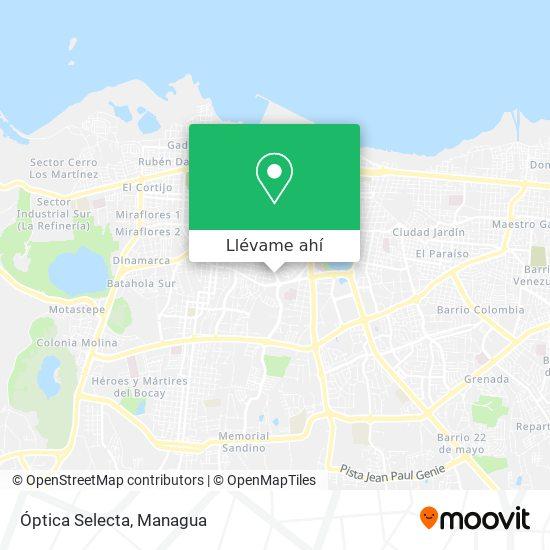 Mapa de Óptica Selecta