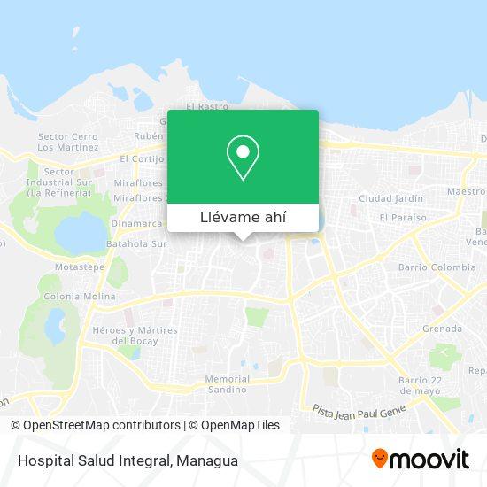 Mapa de Hospital Salud Integral