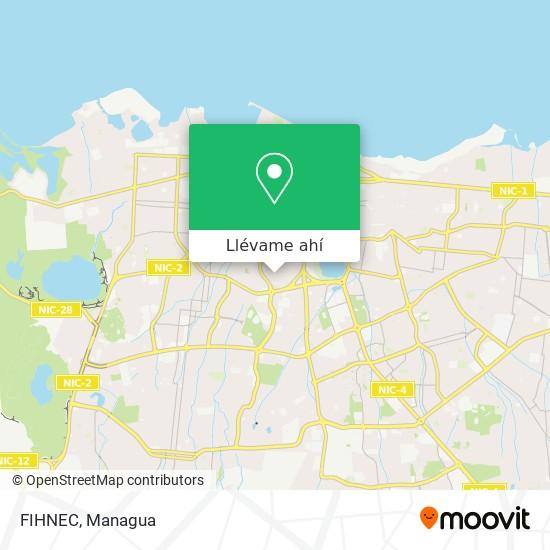 Mapa de FIHNEC