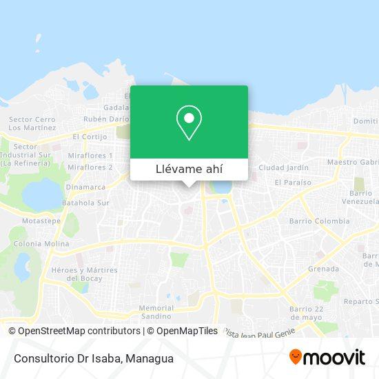Mapa de Consultorio Dr Isaba