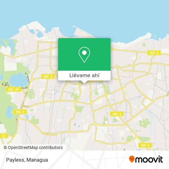 Mapa de Payless