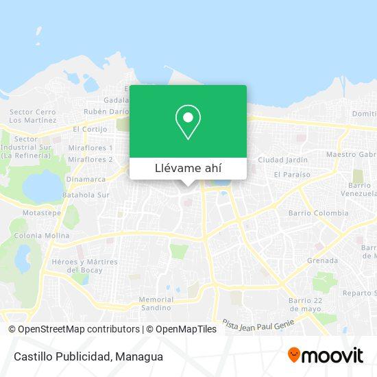 Mapa de Castillo Publicidad