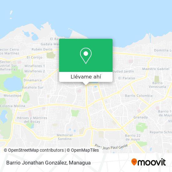 Mapa de Barrio Jonathan González