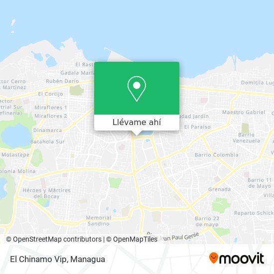 Mapa de El Chinamo Vip