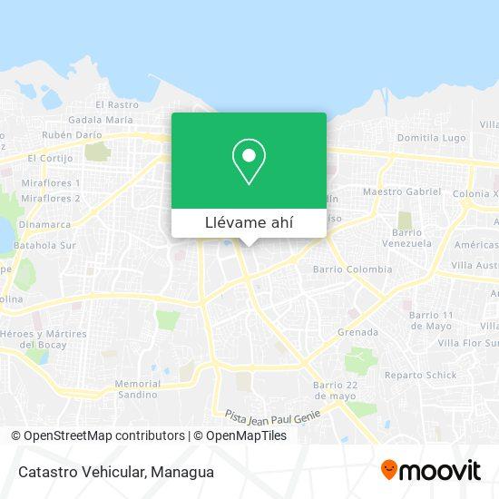 Mapa de Catastro Vehicular